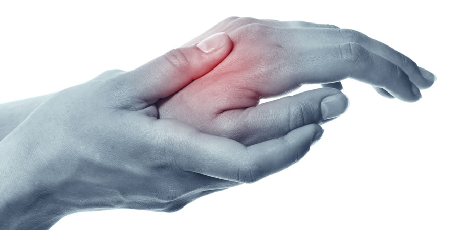 Hand pain from massage