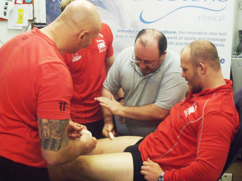 Rugby massage
